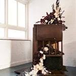 Untitled (Still. Life), 2008, mixed media, 200 x 120 x 120cm